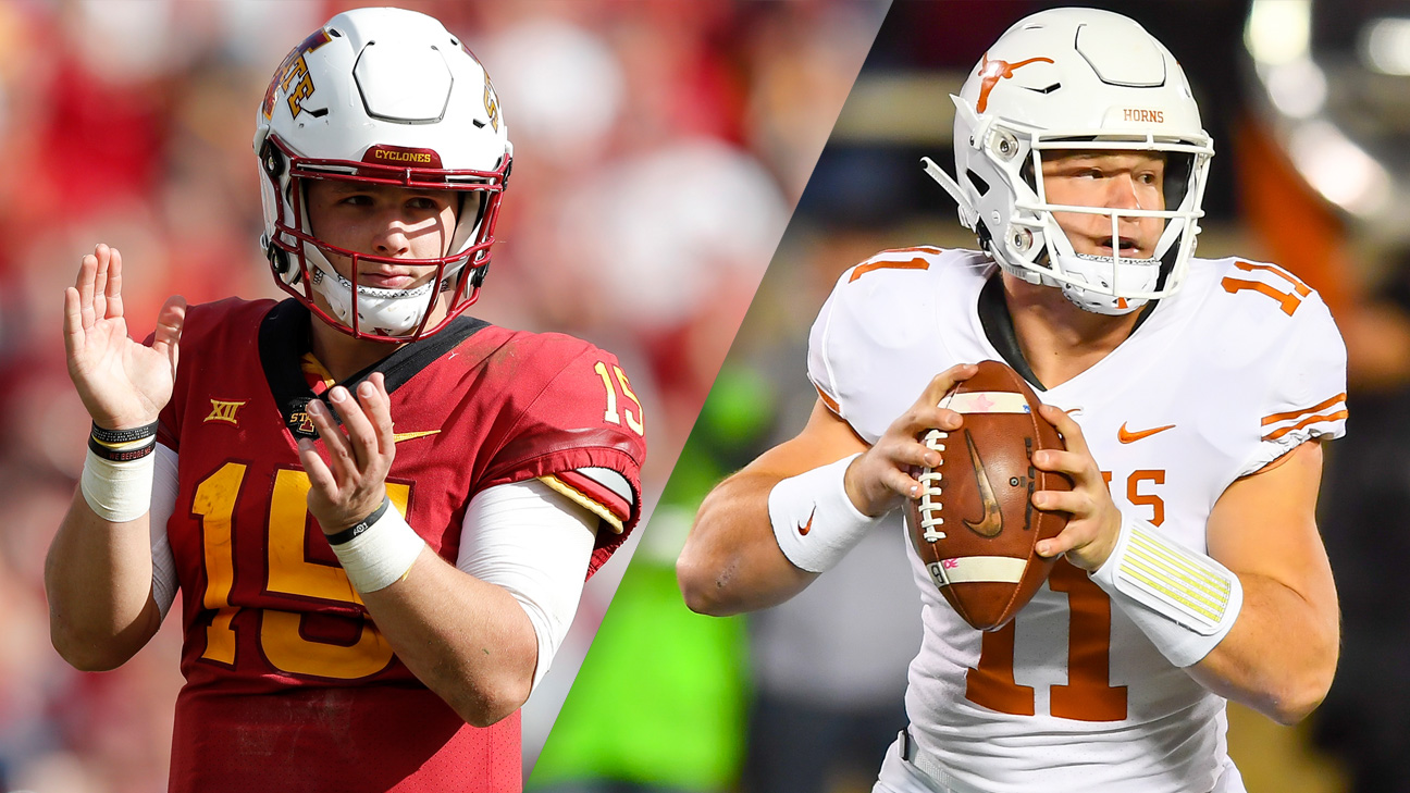 #16 Iowa State vs. #15 Texas (Football) (re-air)