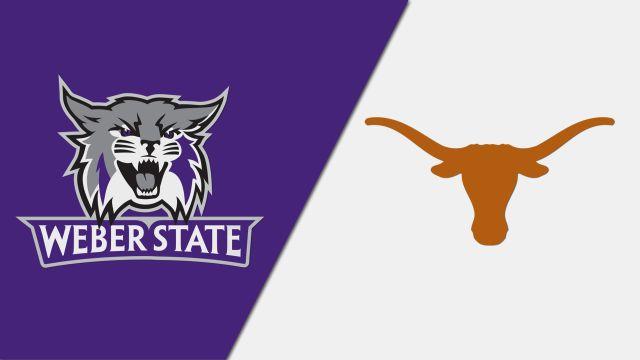 Weber State vs. #4 Texas (Softball)