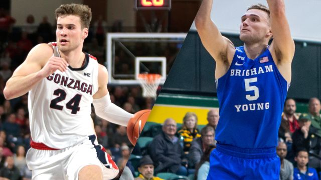 Sat, 2/22 - #2 Gonzaga vs. #23 BYU (M Basketball)