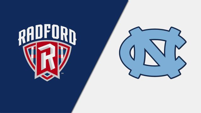 Radford vs. North Carolina (W Volleyball)