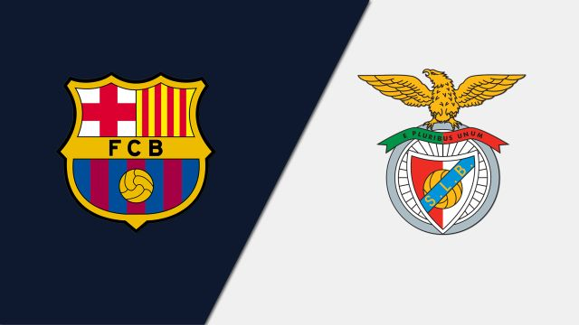 In Spanish-FC Barcelona vs. SL Benfica (Cuartos de Final #4)