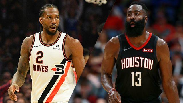 Above the Rim Cameras-LA Clippers vs. Houston Rockets