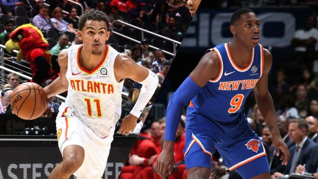 Atlanta Hawks vs. New York Knicks