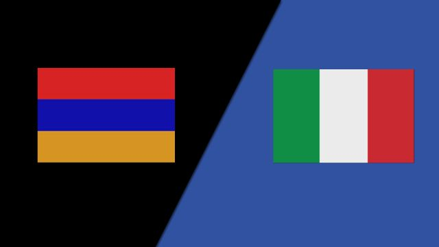 Armenia vs. Italy (Group Stage)