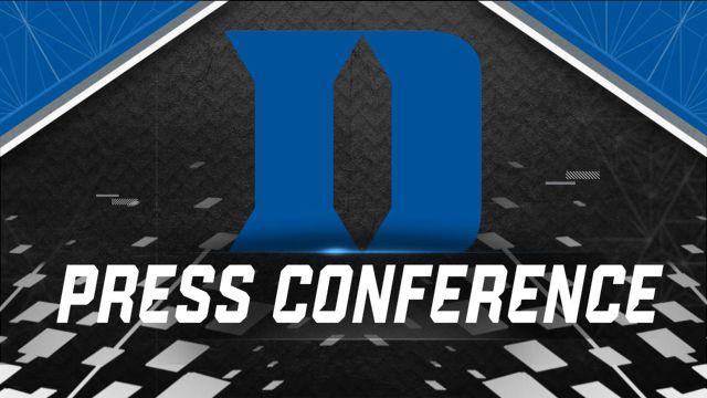 Duke Football Press Conference