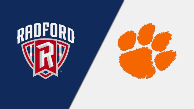 Radford vs. #3 Clemson (M Soccer)