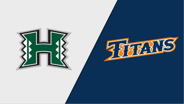 Hawai'i vs. CSU Fullerton (W Volleyball)