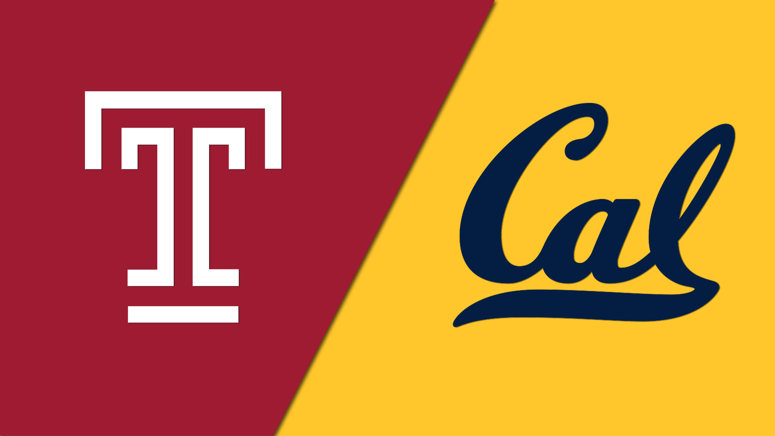 Temple vs. California (3rd Place Game) (Legends Classic)