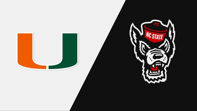 Miami vs. NC State (W Volleyball)