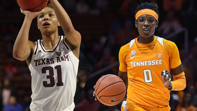 Sun, 2/16 - #16 Texas A&M vs. #25 Tennessee (W Basketball)