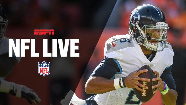 Tue, 10/15 - NFL Live