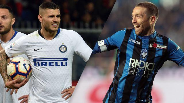 In Spanish-Internazionale vs. Atalanta (Serie A)