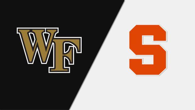 Wake Forest vs. Syracuse (W Basketball)