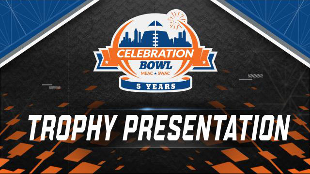 Celebration Bowl Trophy Ceremony (Bowl Game)