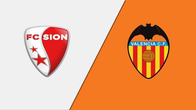 FC Sion vs. Valencia (International Friendly)