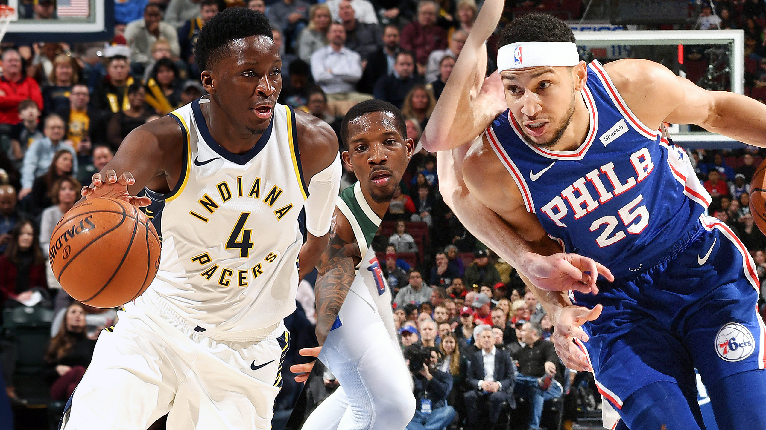 Indiana Pacers vs. Philadelphia 76ers (re-air)