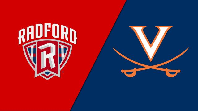 Radford vs. #5 Virginia (M Soccer)