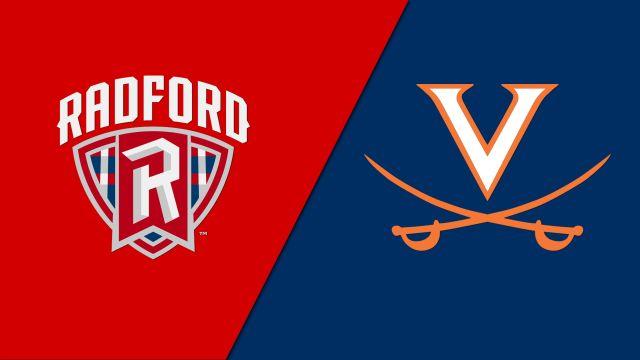 Radford vs. #5 Virginia (M Soccer)