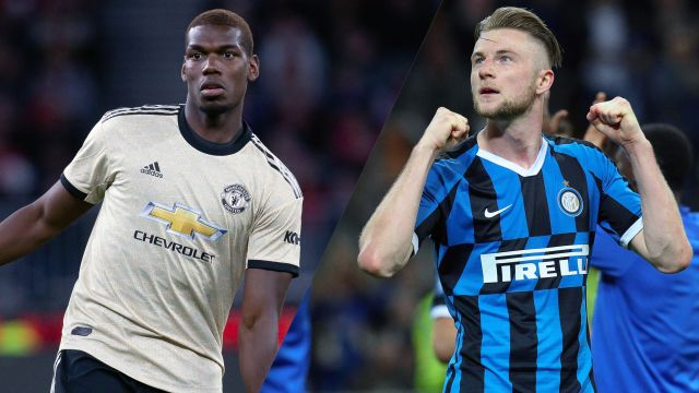 In Spanish-Manchester United vs. Internazionale (International Champions Cup)