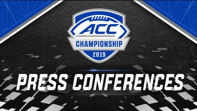 ACC Championship Head Coach Press Conferences