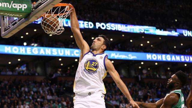 Zaza Pachulia, dos Warriors, é um homem de família por trás da fama de 'sujo' na NBA
