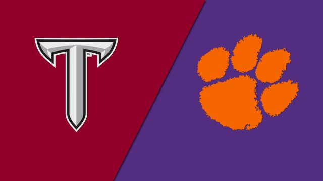 Troy vs. Clemson (W Volleyball)
