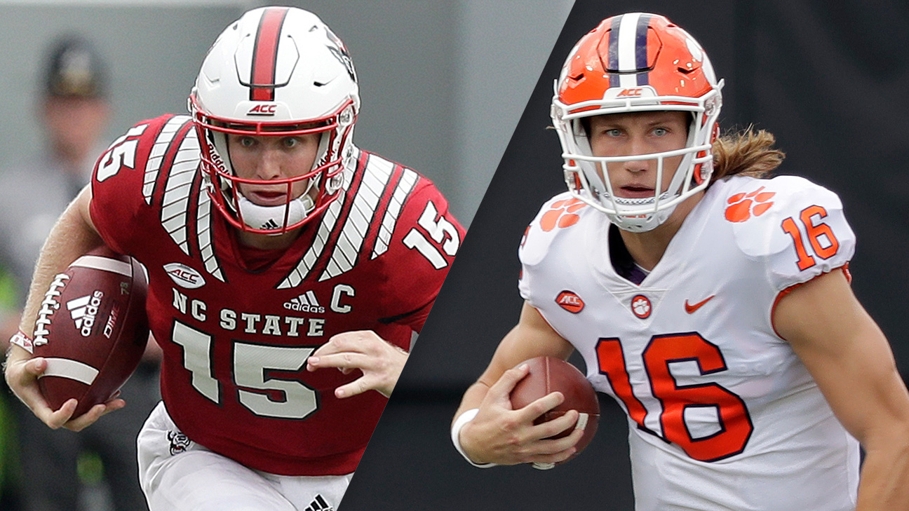#16 NC State vs. #3 Clemson (Football) (re-air)