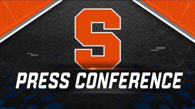 Syracuse Weekly Football Press Conference