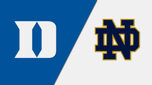 #18 Duke vs. #6 Notre Dame (Quarterfinal)