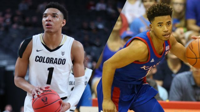 Sat, 12/7 - #20 Colorado vs. #2 Kansas (M Basketball)