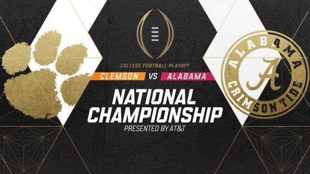 2019 College Football Playoff Recap Show