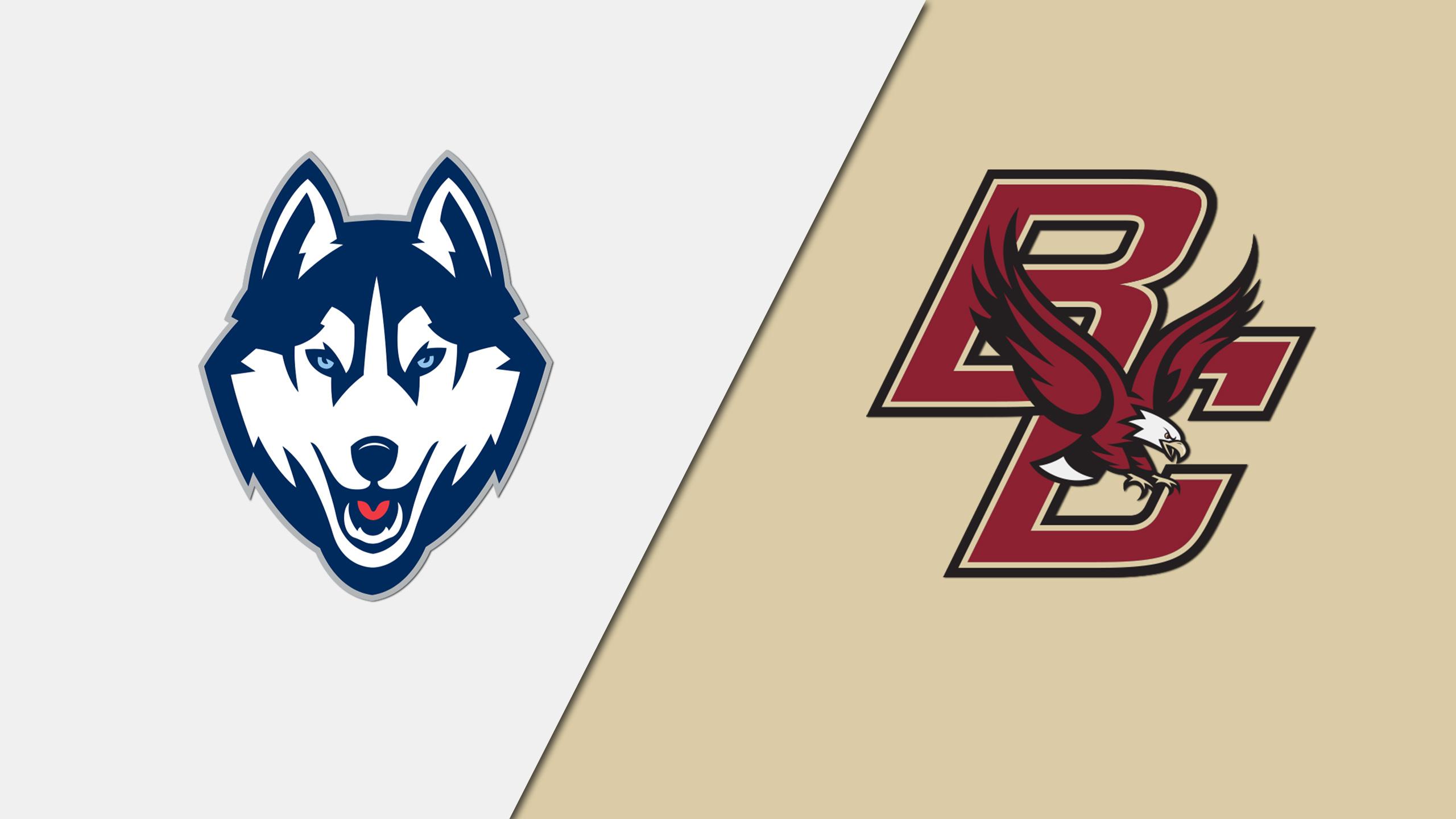 Connecticut vs. #4 Boston College (W Hockey)