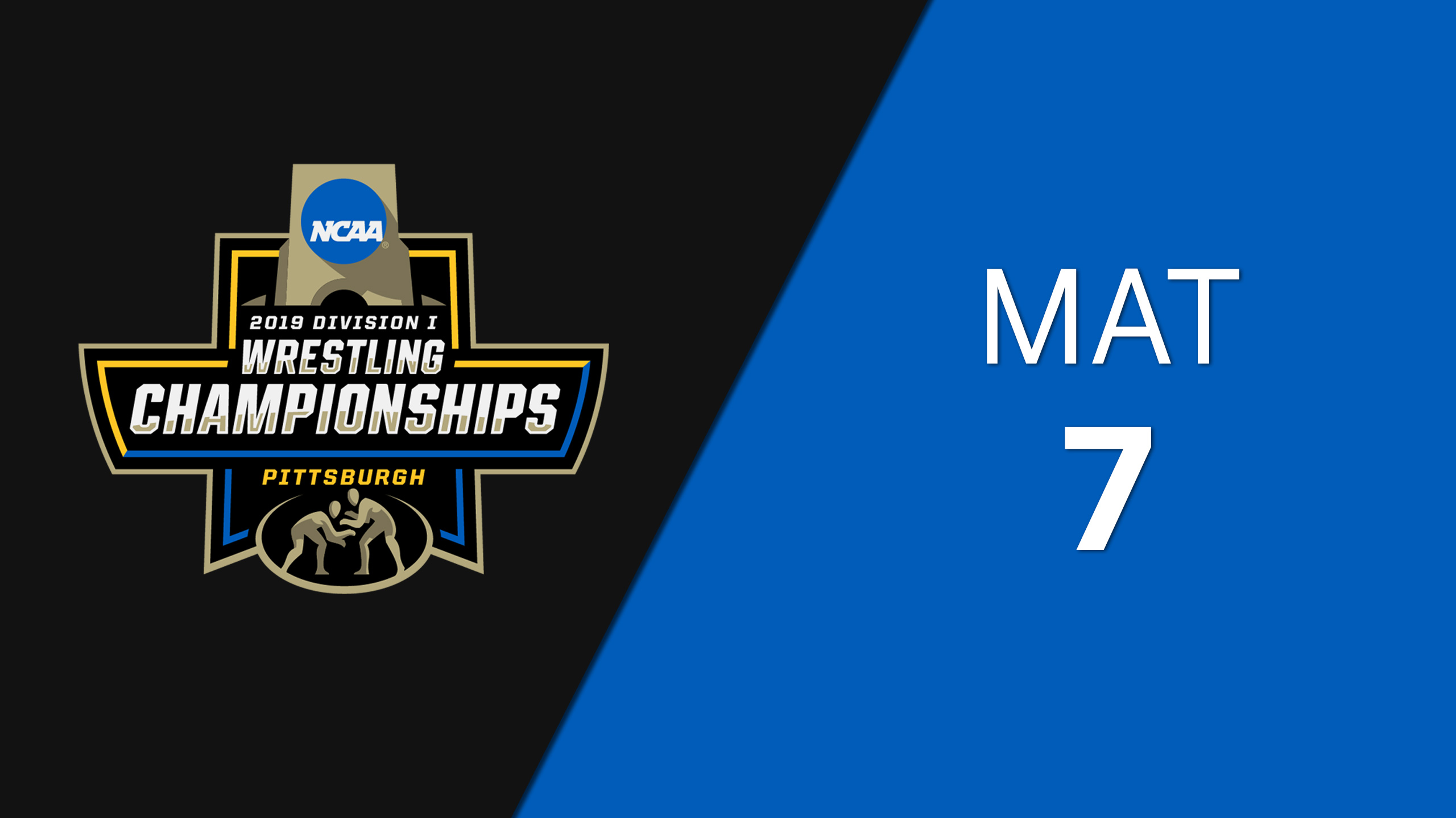 NCAA Wrestling Championship (Mat 7, First Round)