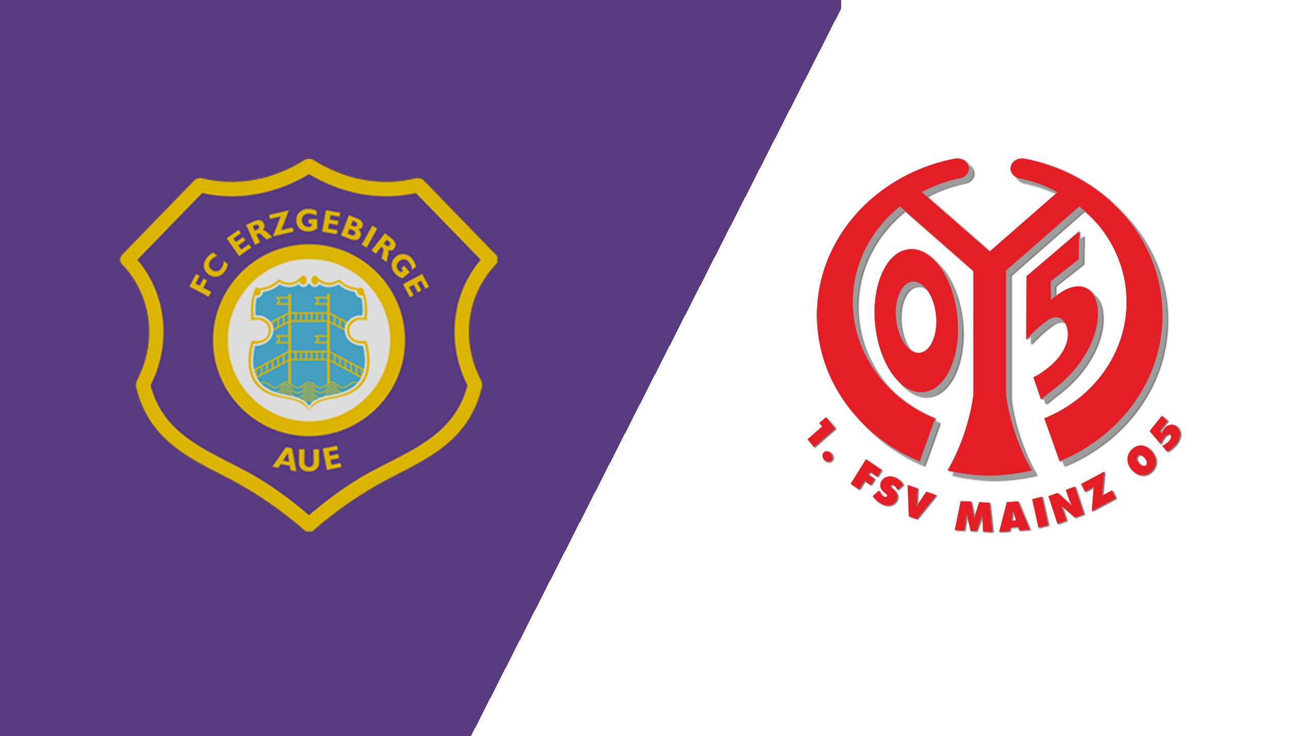 FC Erzgebirge Aue vs. FC Mainz (Round 1) (German Cup)
