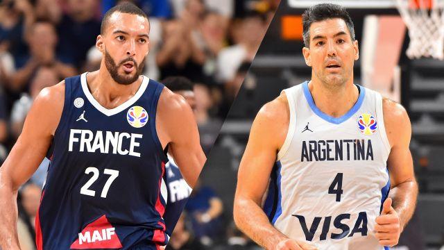 Fri, 9/13 - France vs. Argentina (Semifinal #2)