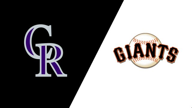 In Spanish-Colorado Rockies vs. San Francisco Giants