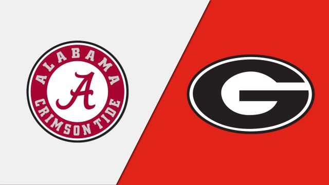 Alabama vs. Georgia