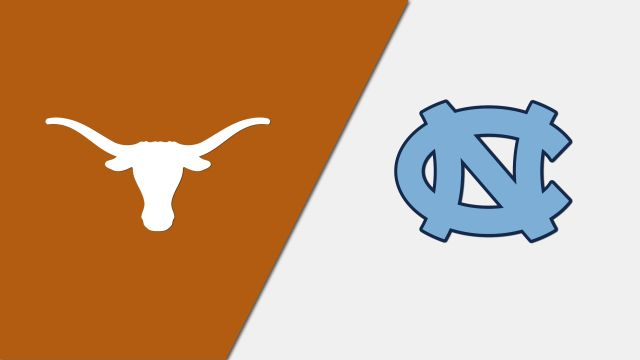 Texas Longhorns vs. North Carolina Tar Heels (re-air)