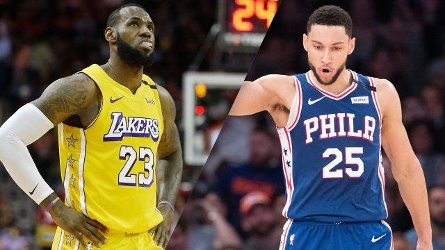 Los Angeles Lakers vs. Philadelphia 76ers