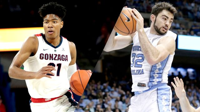 Gonzaga vs. North Carolina