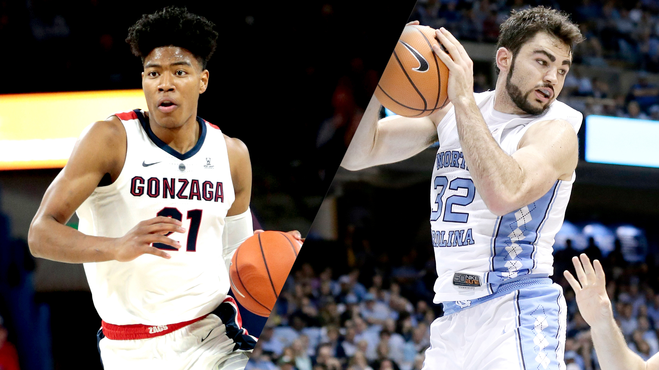 #4 Gonzaga vs. #12 North Carolina (M Basketball)