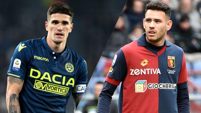 Udinese vs. Genoa