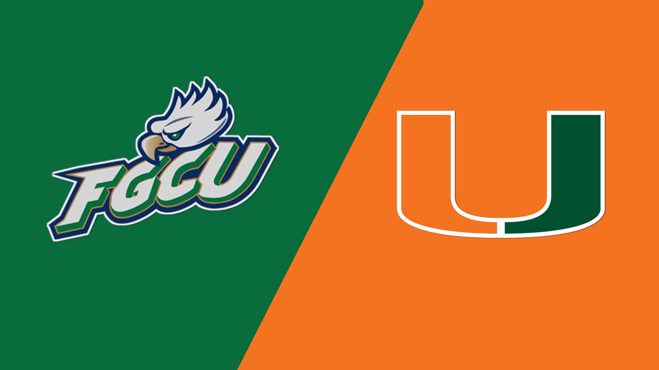 Florida Gulf Coast vs. Miami (W Volleyball)
