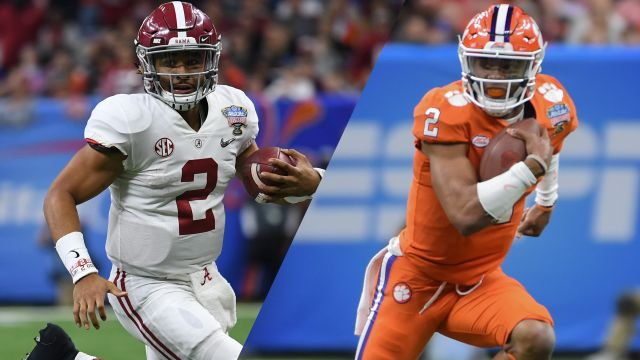 Alabama vs. Clemson (Semifinal) (College Football Playoff)