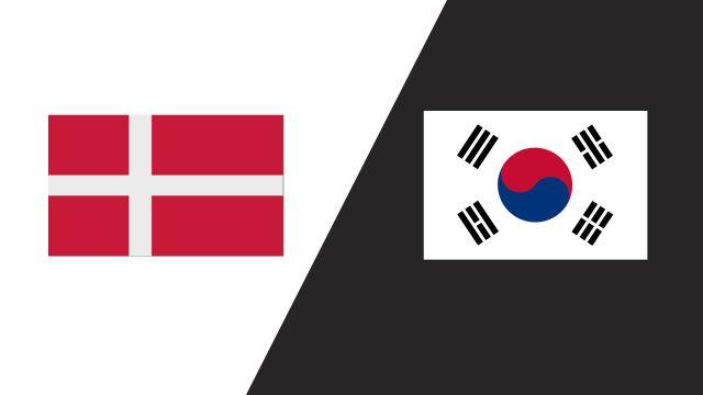 Denmark vs. Korea