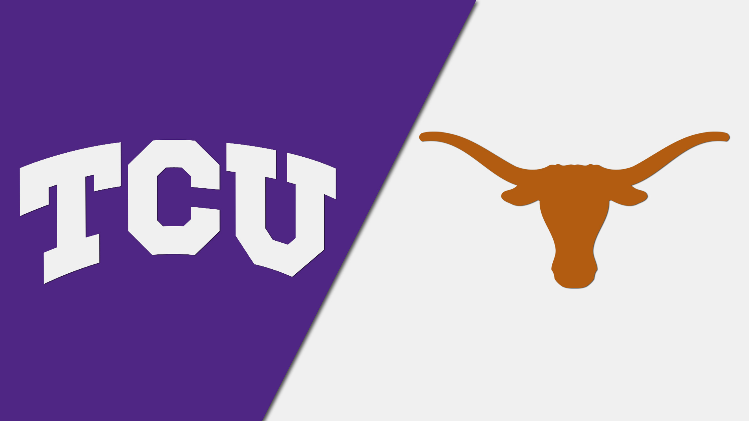 TCU vs. #12 Texas (W Basketball) (re-air)