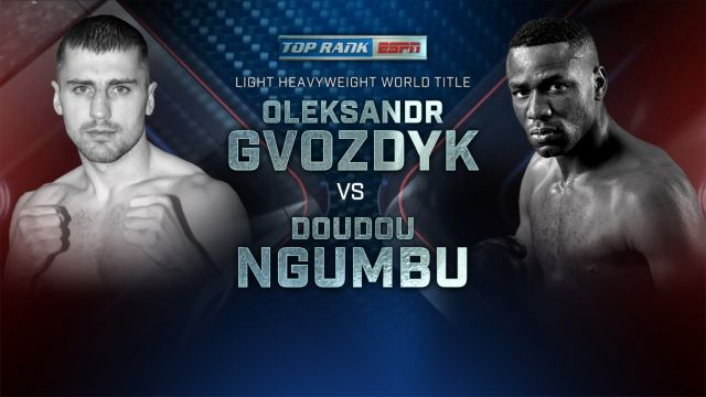 Gvozdyk vs. Ngumbu Main Event