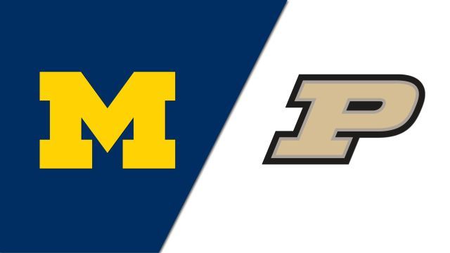Michigan Wolverines vs. Purdue Boilermakers