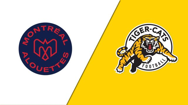 Montreal Alouettes vs. Hamilton Tiger-Cats (Canadian Football League)
