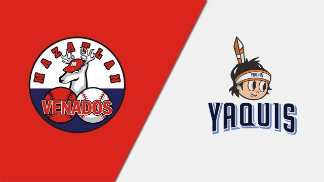 In Spanish-Venados de Mazatlán vs. Yaquis de Obregón (Partido #6 (Si Es Necesario))